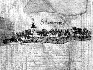 Kiesersche Forstkarte Stuttgart-Stammheim