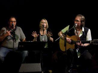 The Soulshapes, Myra Pienaar, Fide Wolter und Hacki Müller