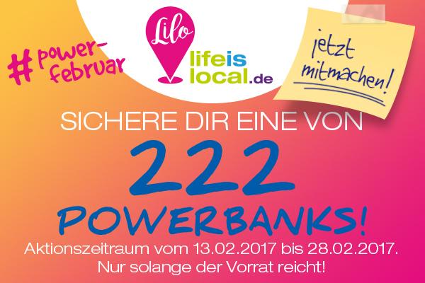 Gewinnspiel #PowerFebruar