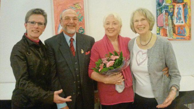 Gisela Reich, Eleonore Busse, Hansjörg Meindl und Monika Wallner