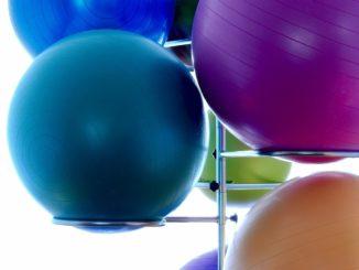 Gymnastikbälle bunt gemischt